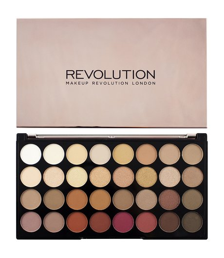 Revolution Makeup 32 Ultra Eyeshadow Palette Flawless 3 Resurrection